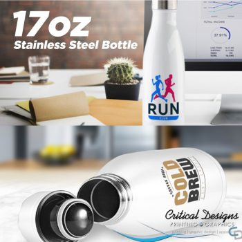 stainless steel water bottle critical designs